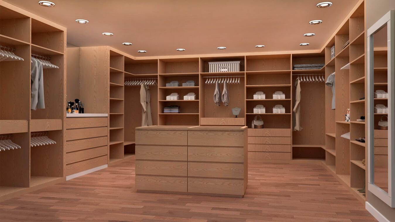 Armarios y vestidores - Ref. 0052