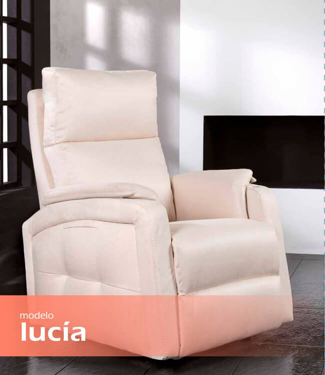 Butacas TAPI modelo Lucía - Ref. 0007