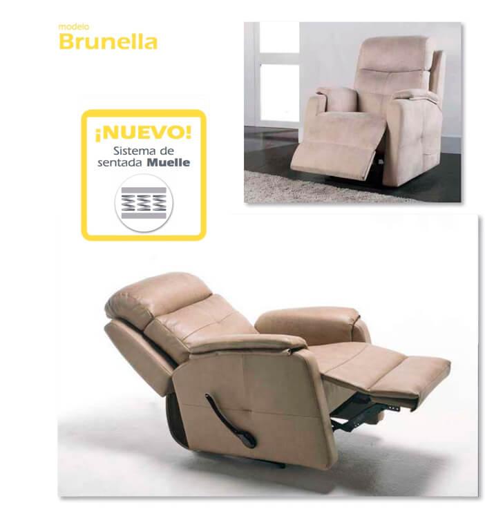 Butacas TAPI modelo Brunella - Ref. 0011