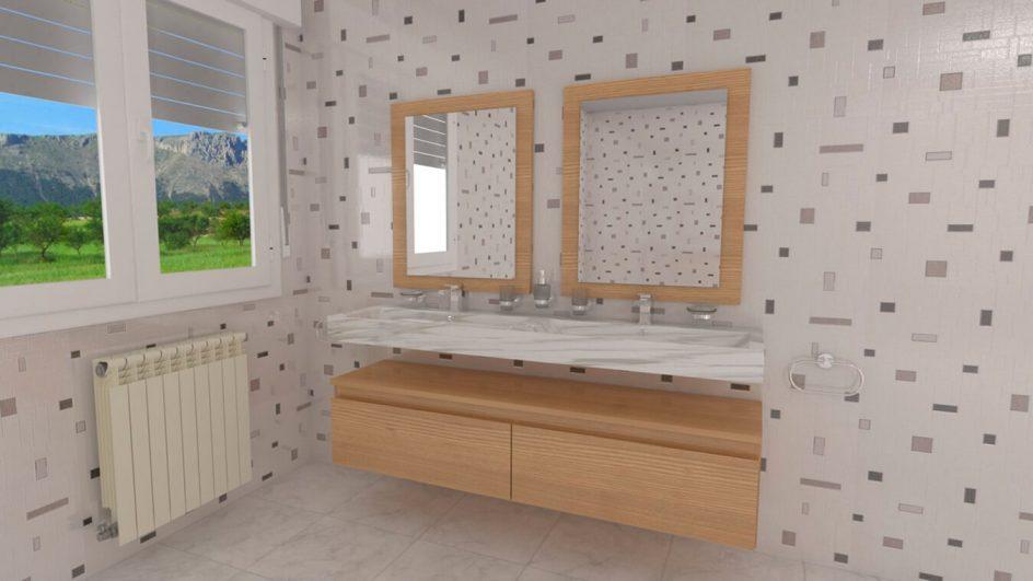 Mueble de Baño - Ref: 0052