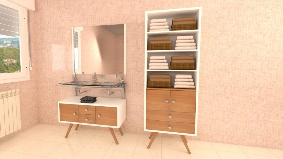 Mueble de Baño - Ref: 0048
