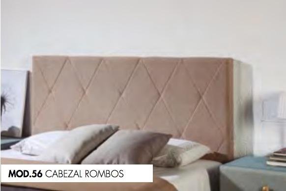CABEZAL TC ROMBOS MOD.56