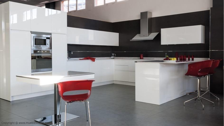 Muebles de Cocina - Ref. 0108
