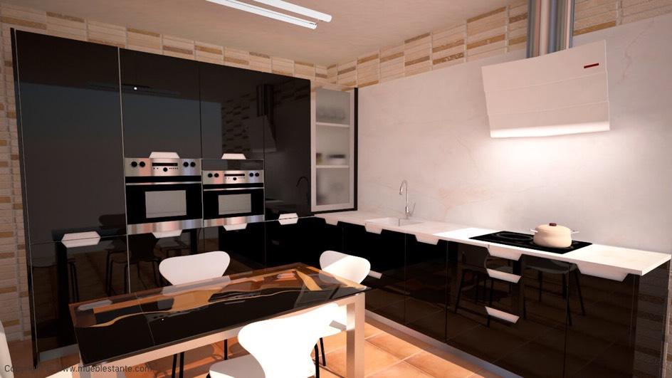 Muebles de Cocina - Ref. 0120