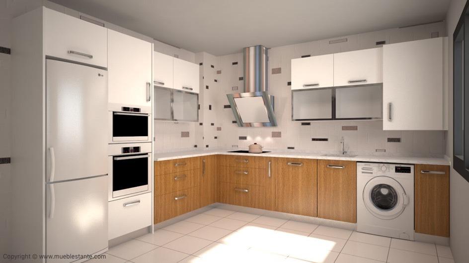 Muebles de Cocina - Ref. 0122