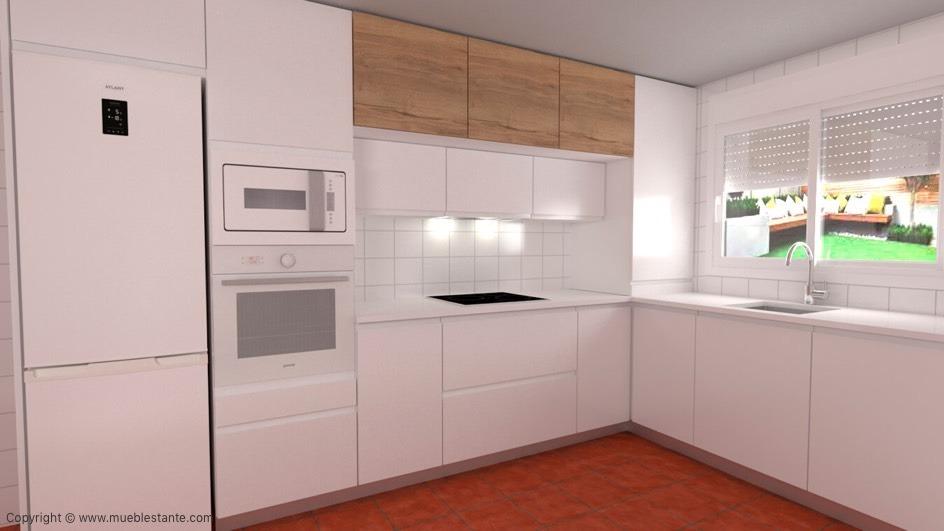 Muebles de Cocina - Ref. 0123