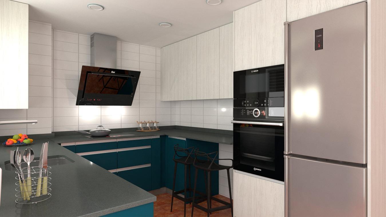 Muebles de Cocina - Ref. 0156