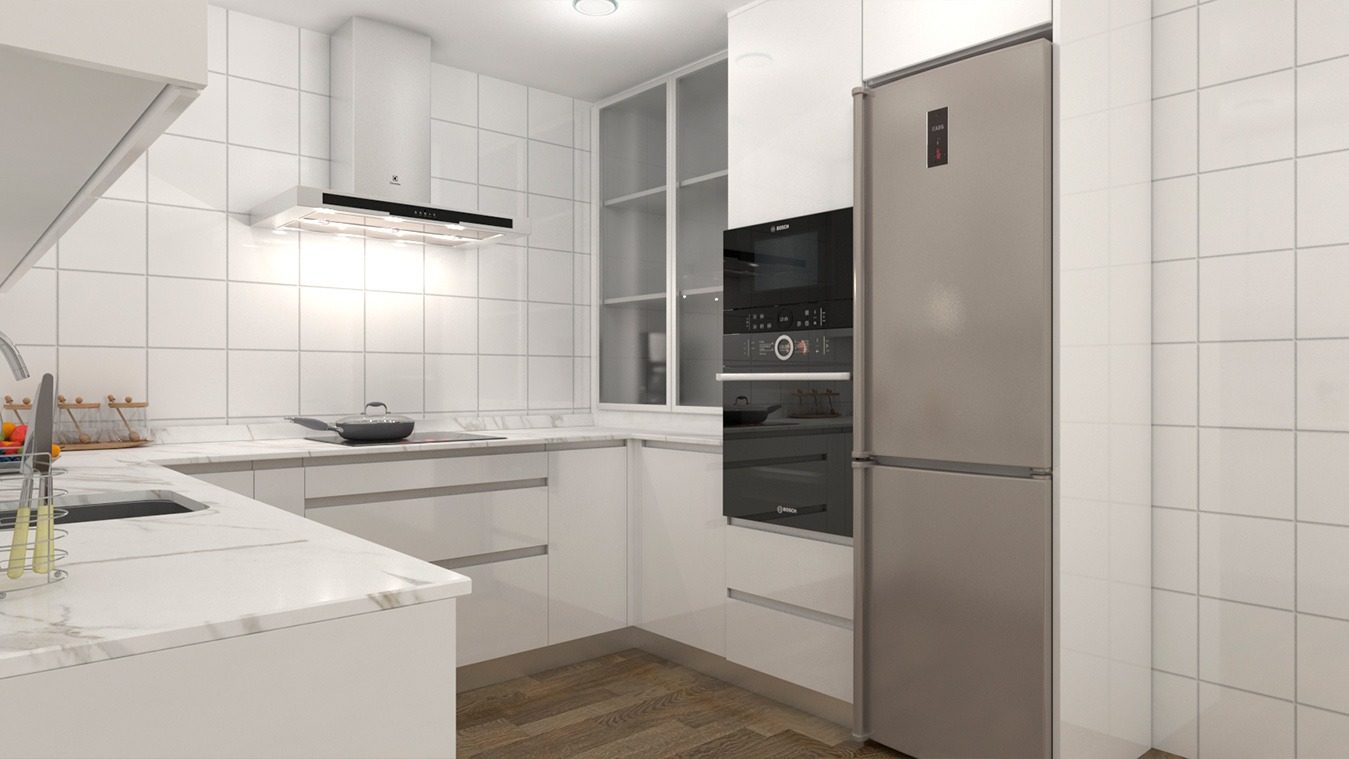 Muebles de Cocina - Ref. 0157