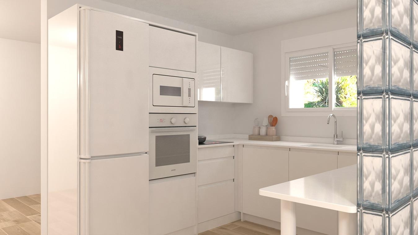 Muebles de Cocina - Ref. 0152