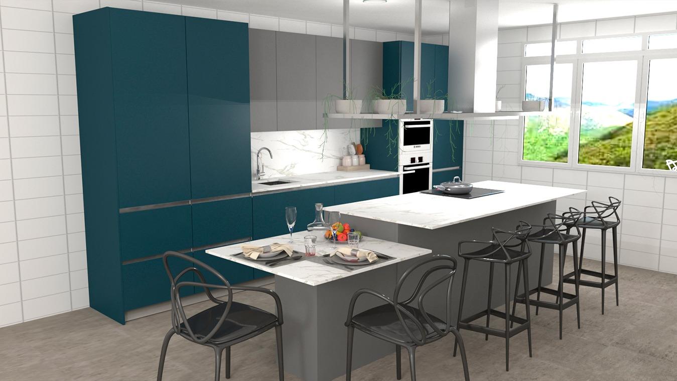 Muebles de Cocina - Ref. 0153