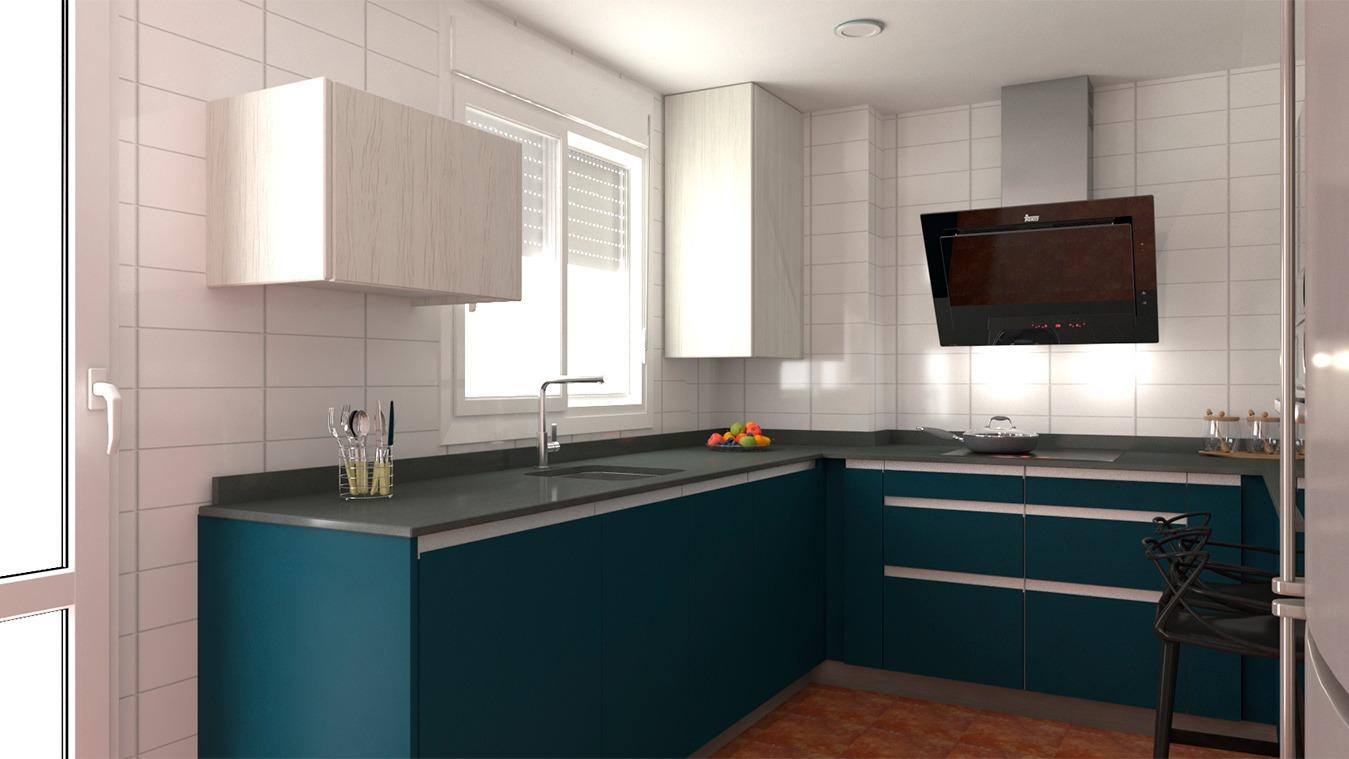 Muebles de Cocina - Ref. 0180