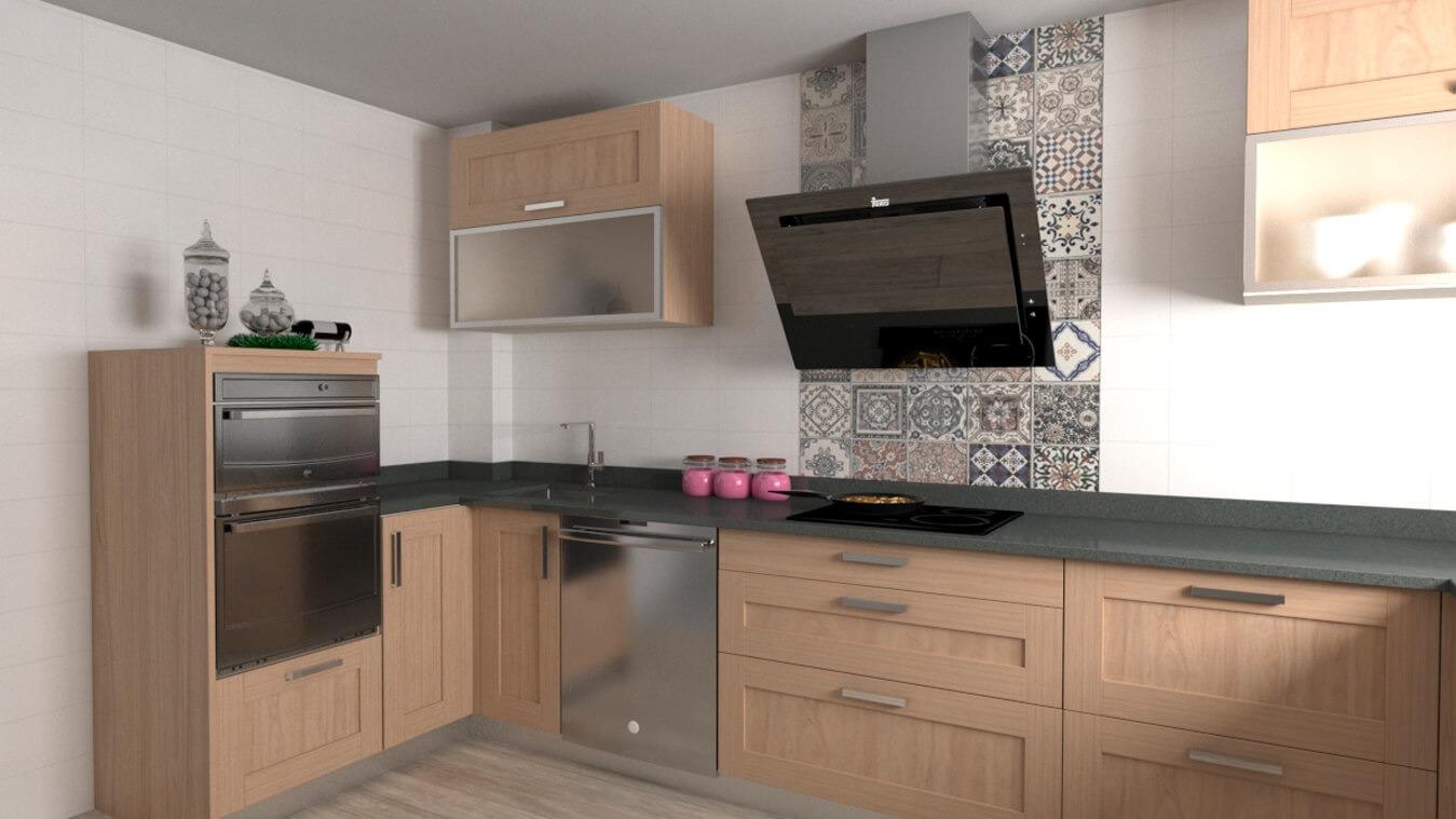 Muebles de Cocina - Ref. 0128