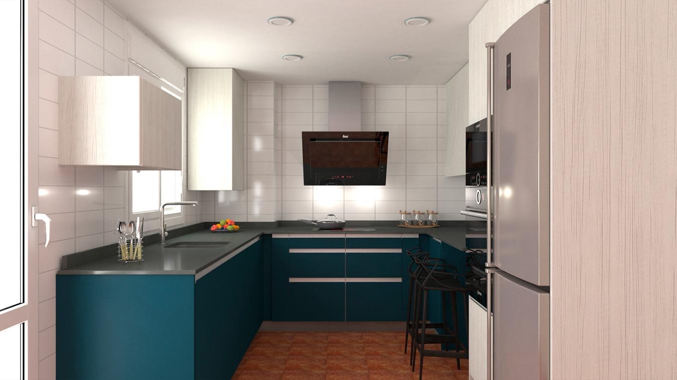 Muebles de Cocina - Ref. 0176