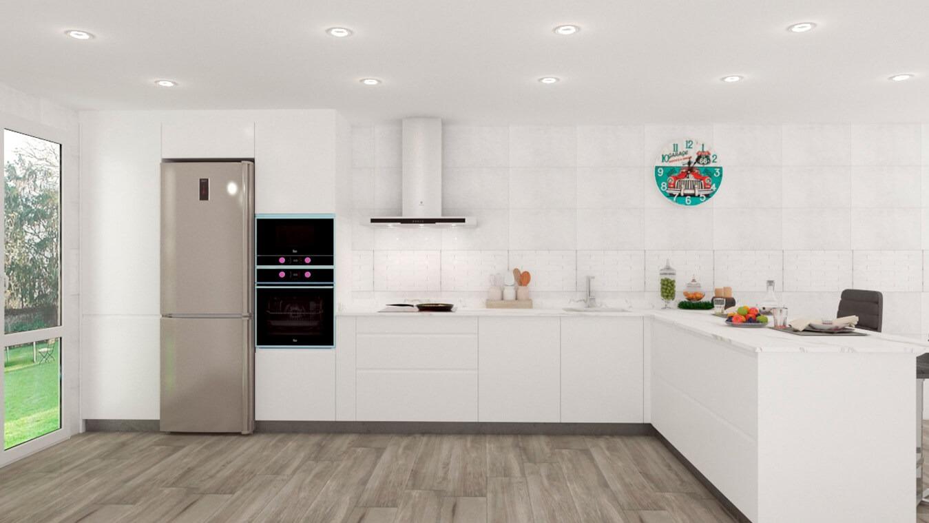 Muebles de Cocina - Ref. 0135