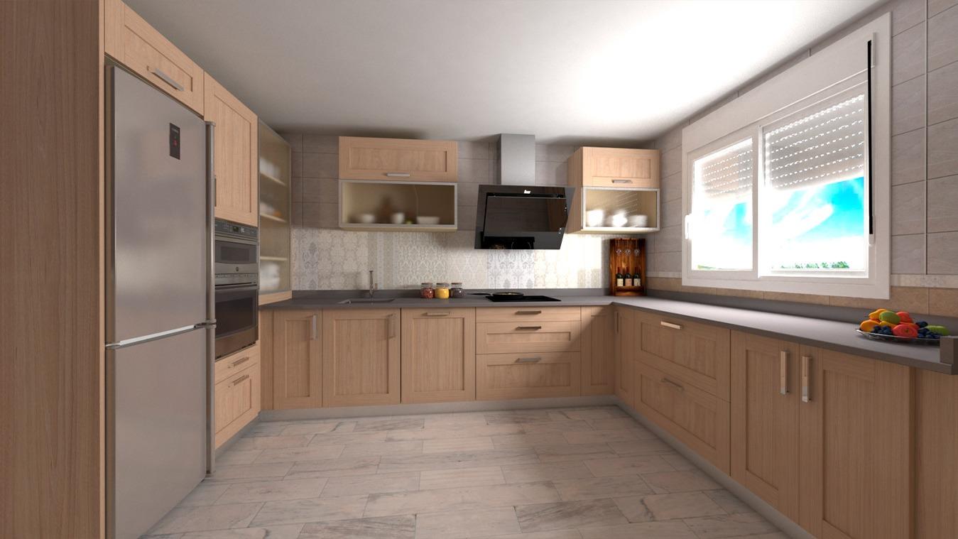 Muebles de Cocina - Ref. 0174