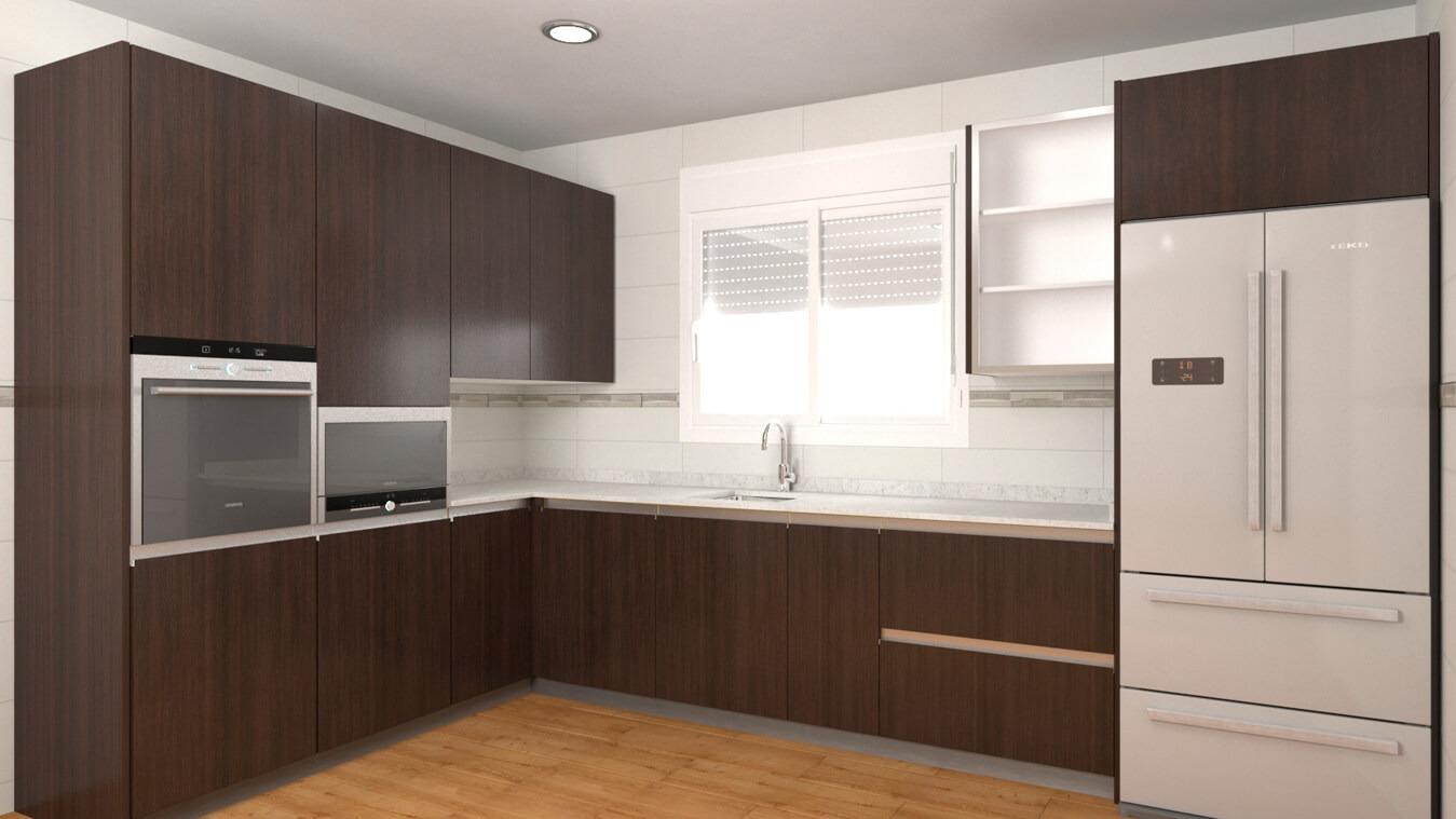 Muebles de Cocina - Ref. 0131