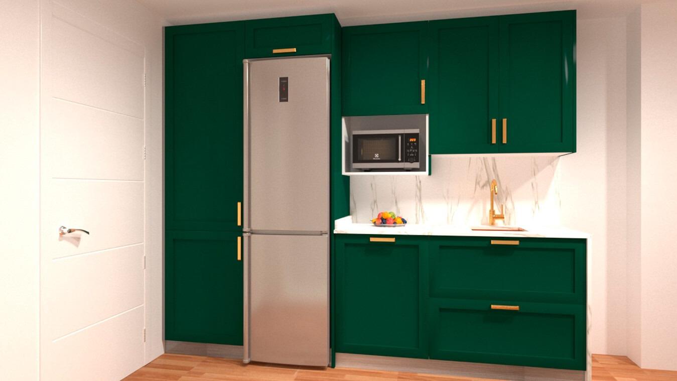 Muebles de Cocina - Ref. 0132