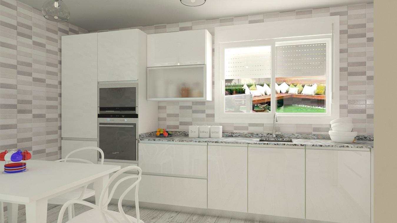Muebles de Cocina - Ref. 0168