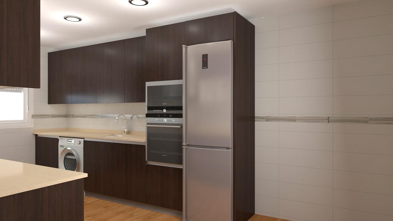Muebles de Cocina - Ref. 0167