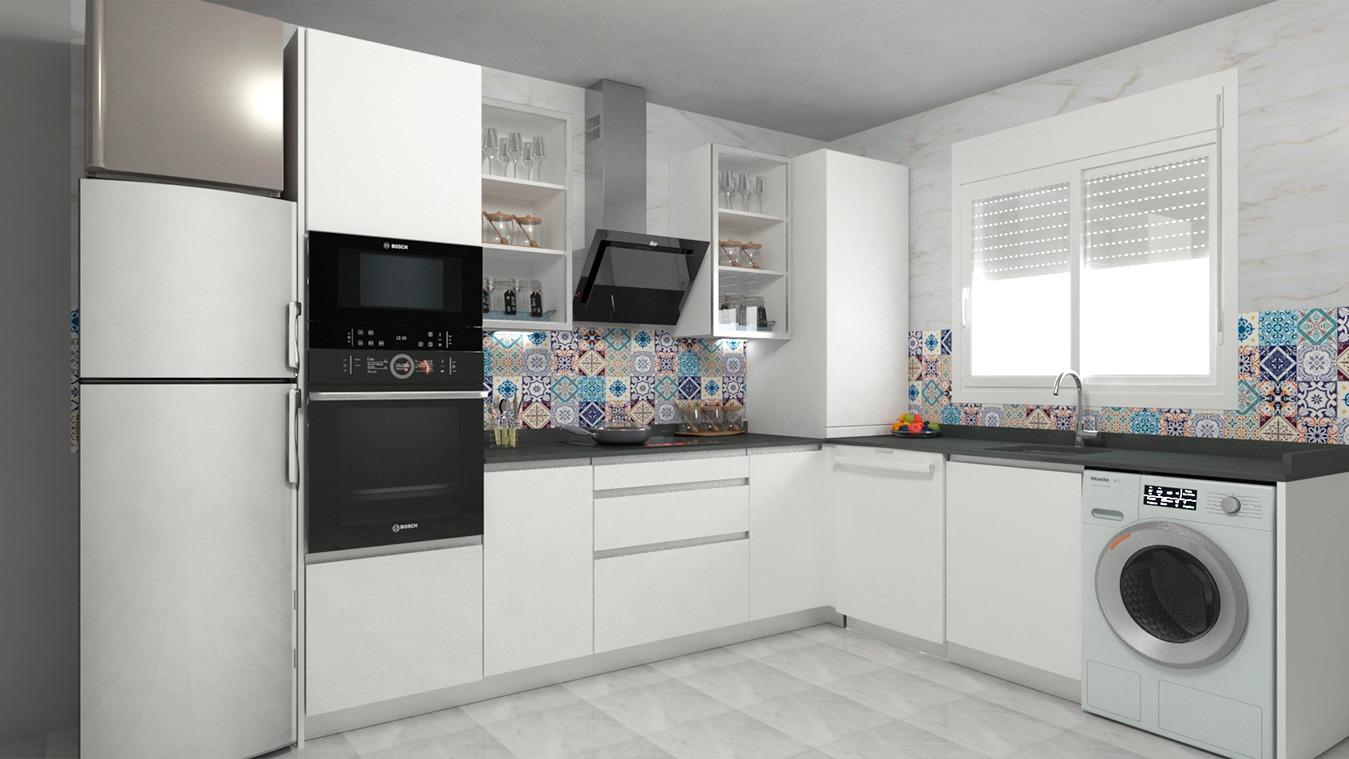 Muebles de Cocina - Ref. 0166