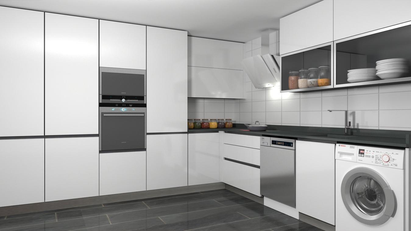 Muebles de Cocina - Ref. 0165