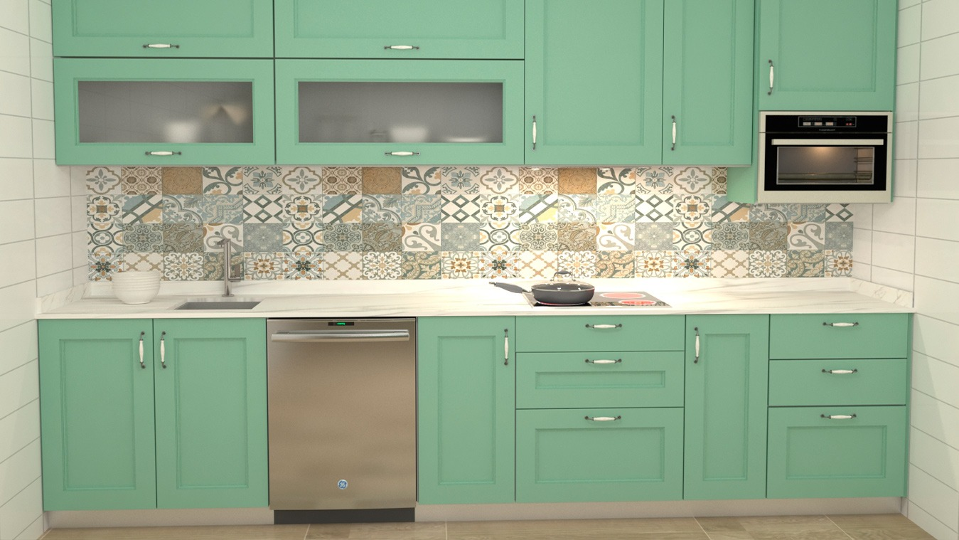 Muebles de Cocina - Ref. 0164