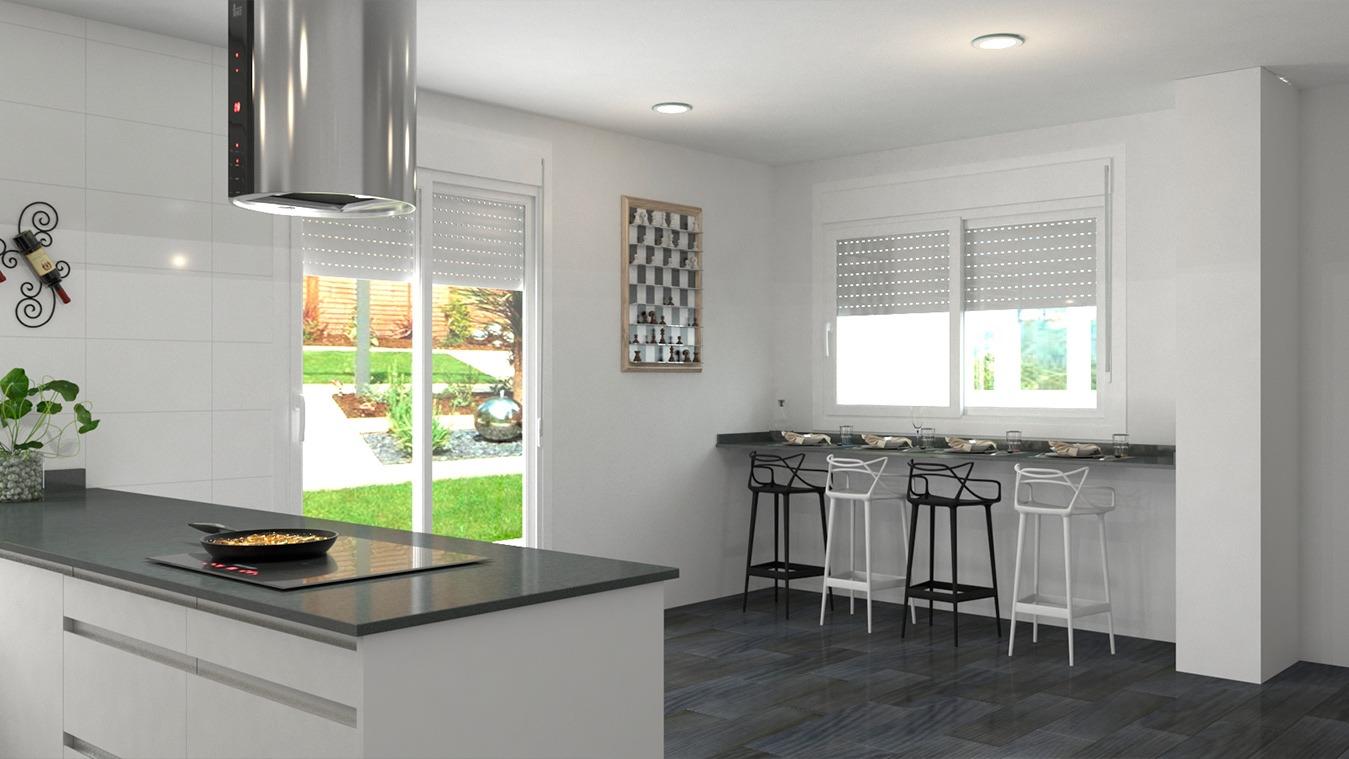 Muebles de Cocina - Ref. 0163