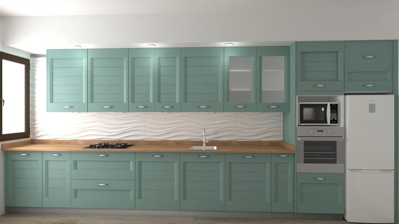 Muebles de Cocina - Ref. 0160