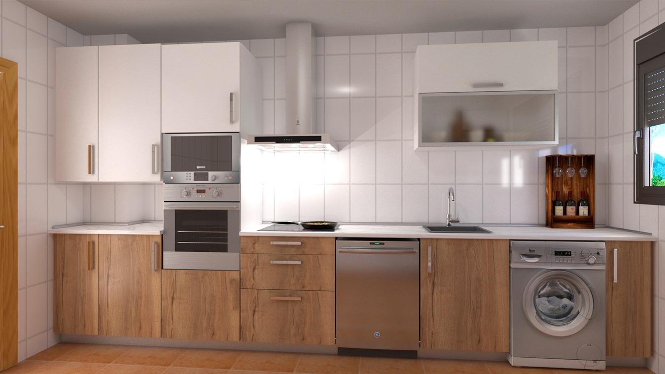 Muebles de Cocina - Ref. 0159