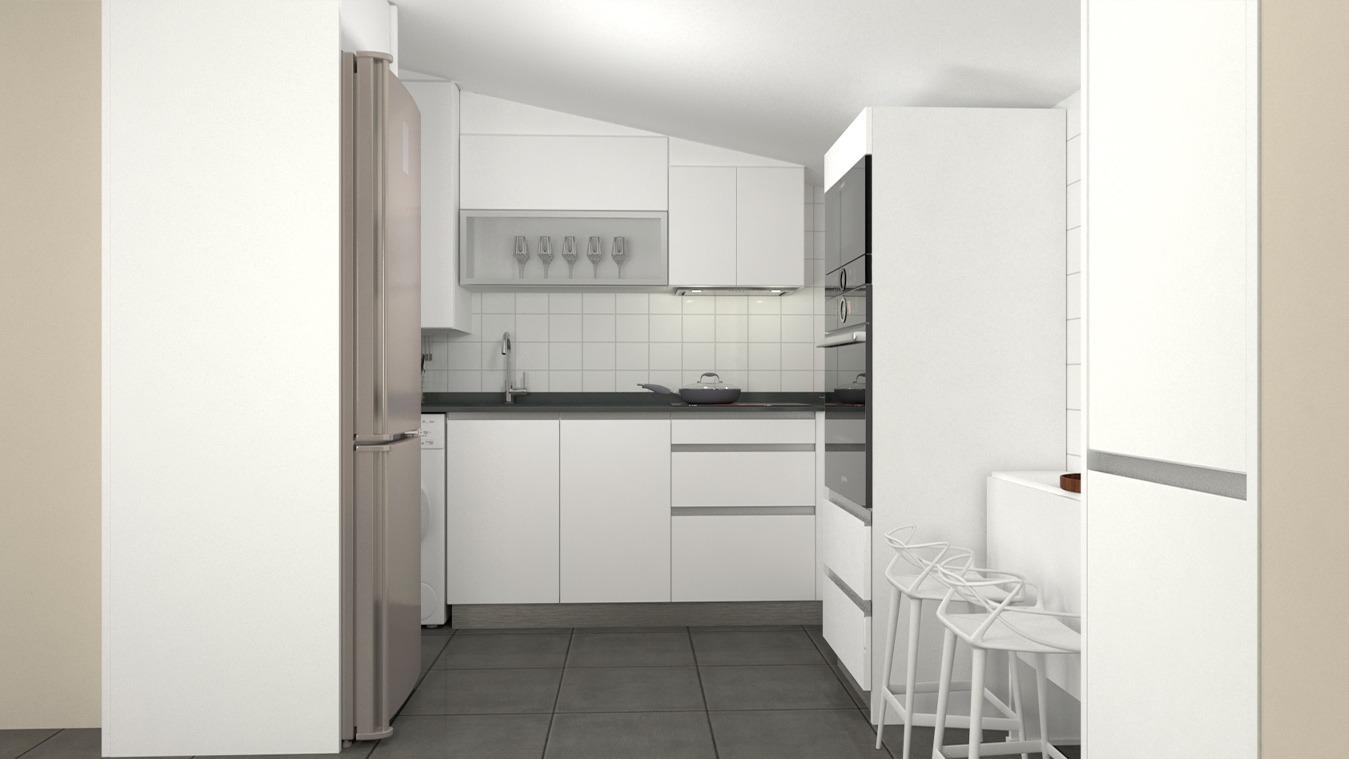 Muebles de Cocina - Ref. 0158