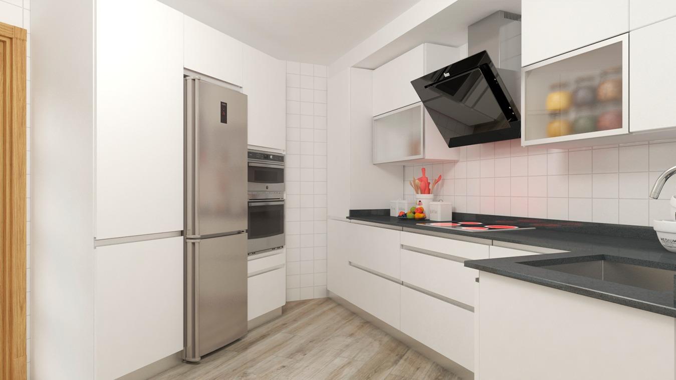 Muebles de Cocina - Ref. 0151