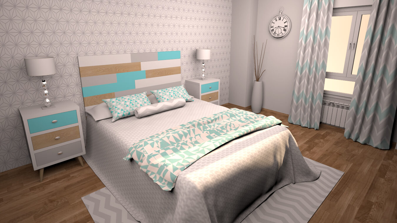 Dormitorio modelo ALVASON - Ref: 0003