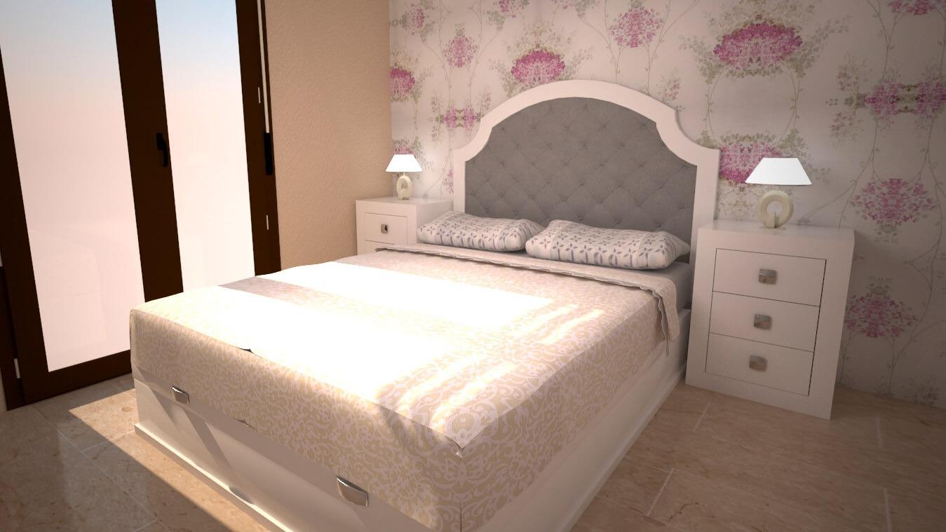 Dormitorio modelo GRANITO LISO - Ref: 0004