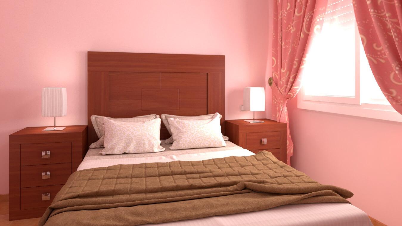 Dormitorio modelo GRANITO LISO - Ref: 0007