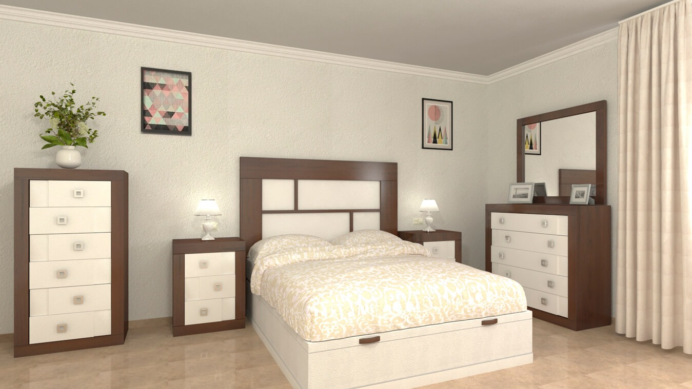 Dormitorio modelo REBAJES - Ref: 0002