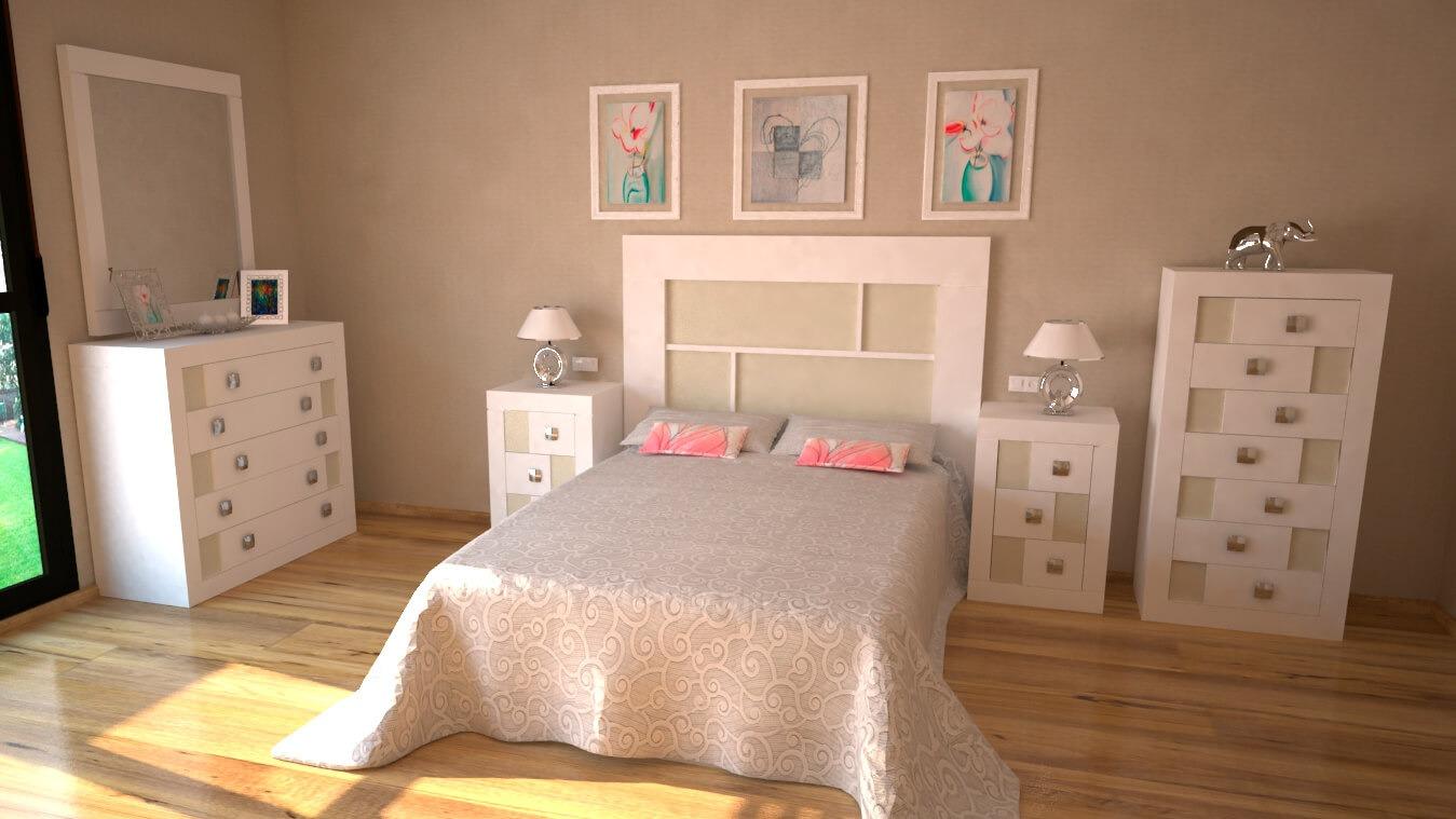Dormitorio modelo REBAJES - Ref: 0003