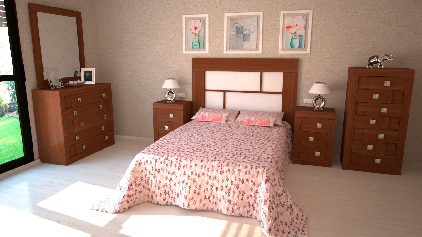 Dormitorio modelo REBAJES - Ref: 0004
