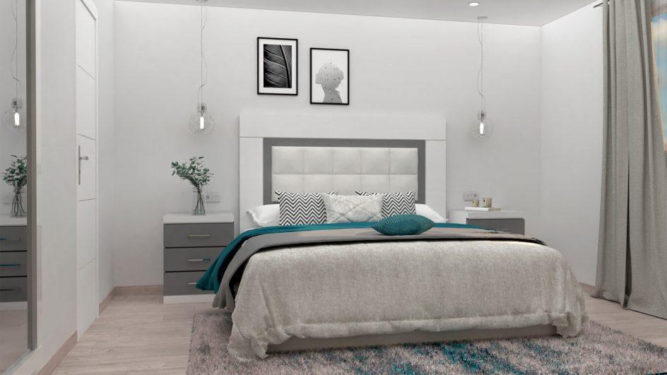 Dormitorio modelo GRANITO SOLAPADO - Ref. 0023
