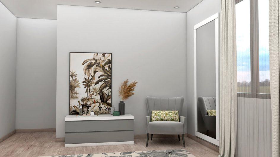 Dormitorio modelo GRANITO SOLAPADO - Ref: 0494