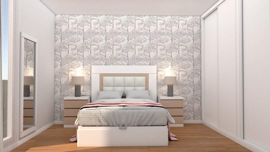 Dormitorio modelo GRANITO SOLAPADO - Ref: 0492