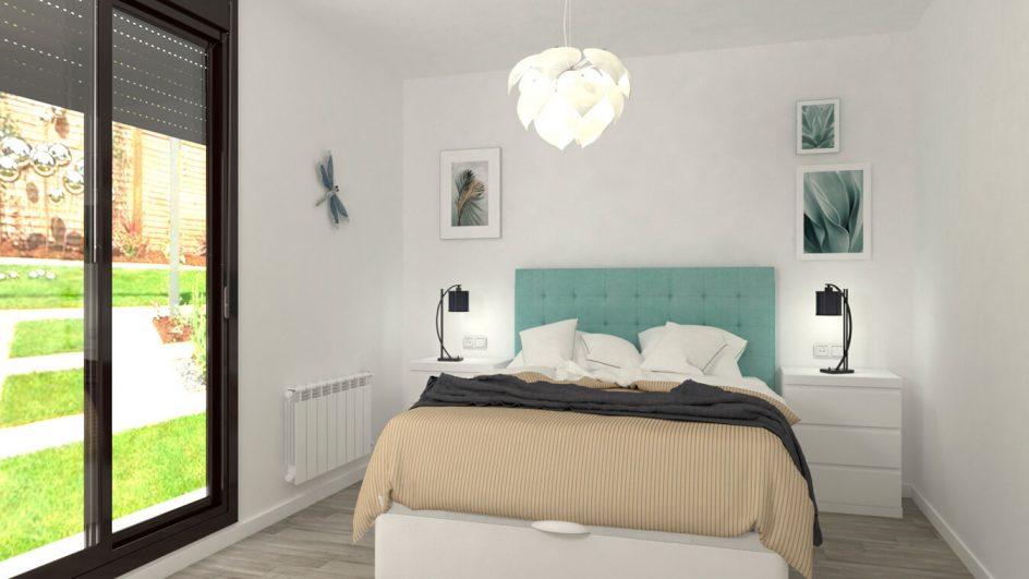 Dormitorio modelo GRANITO SOLAPADO - Ref: 0497