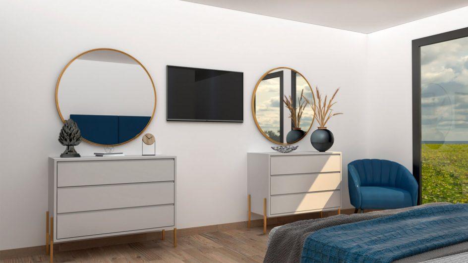 Dormitorio modelo INDUSTRIAL - Ref. 0014