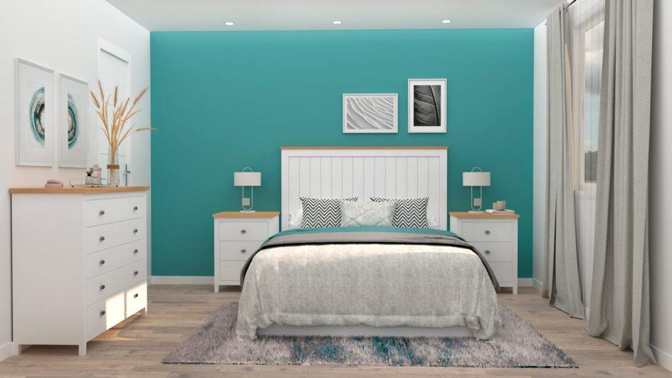 Dormitorio modelo ISABELLA - Ref: 0009