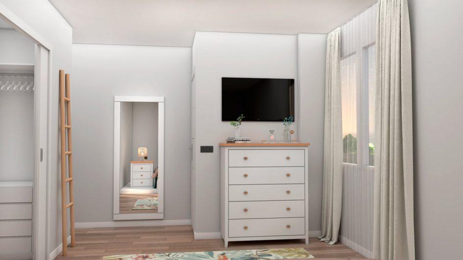 Dormitorio modelo ISABELLA - Ref: 0500