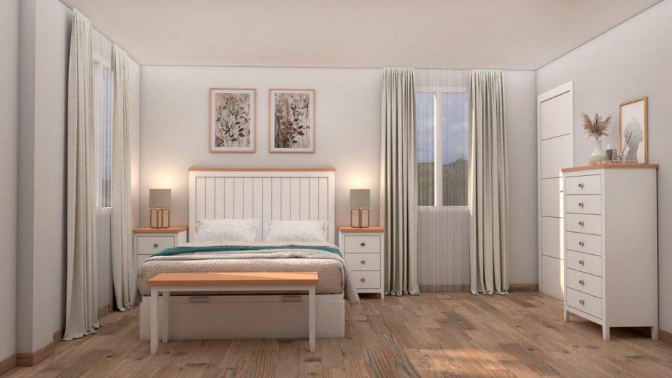Dormitorio modelo ISABELLA - Ref: 0498