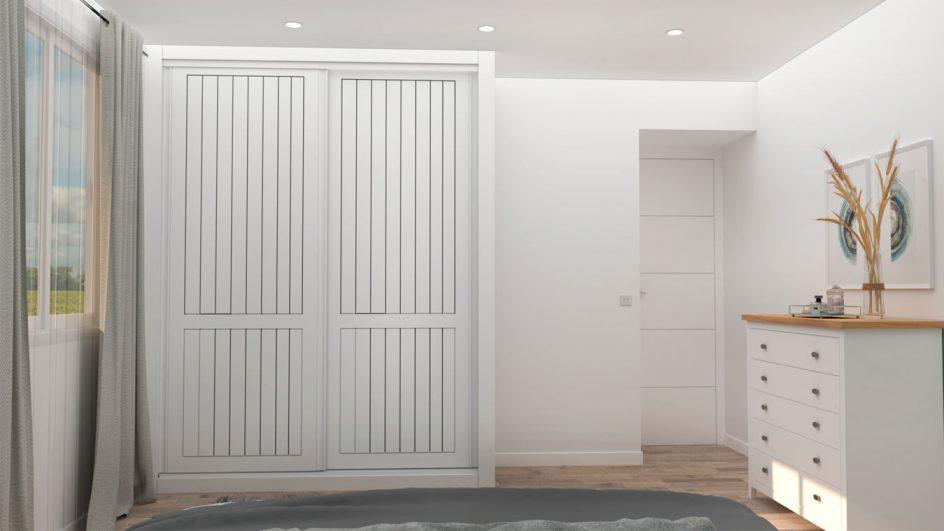Dormitorio modelo ISABELLA - Ref: 0010