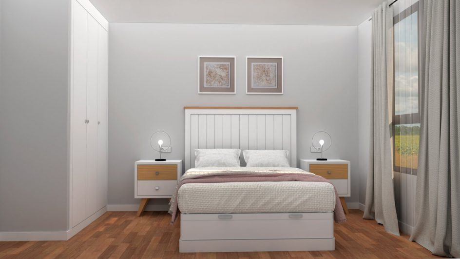 Dormitorio modelo ISABELLA - Ref: 0011
