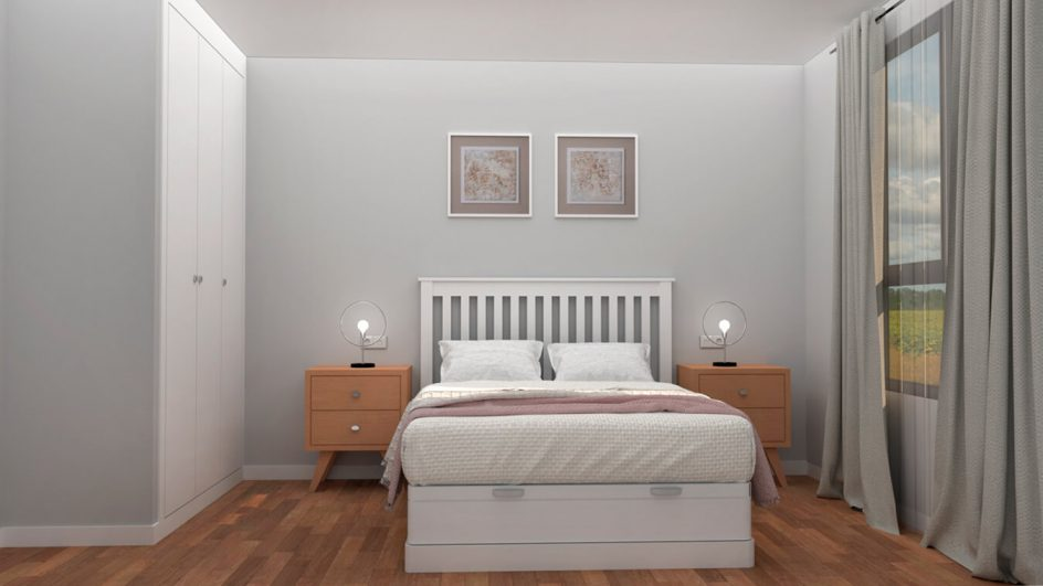 Dormitorio modelo ISABELLA - Ref: 0013