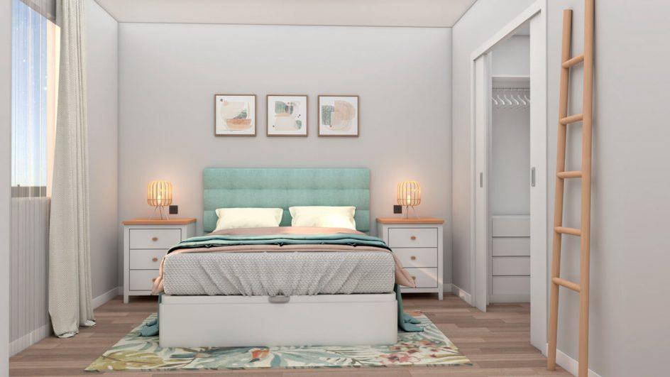 Dormitorio modelo ISABELLA - Ref: 0499