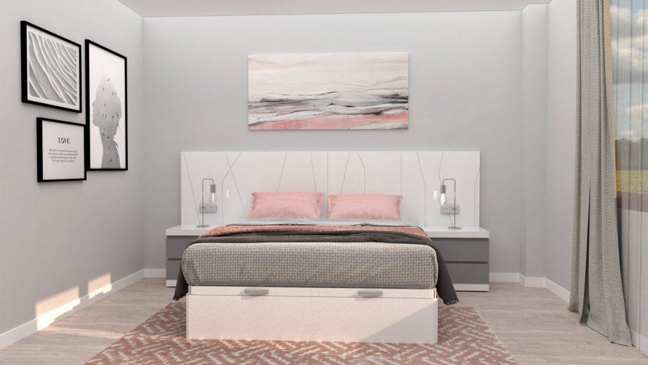 Dormitorio modelo YAKI - Ref: 00026